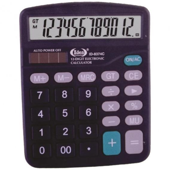 10 Calculadora De Mesa Comercial Escritório 12 Dígitos.