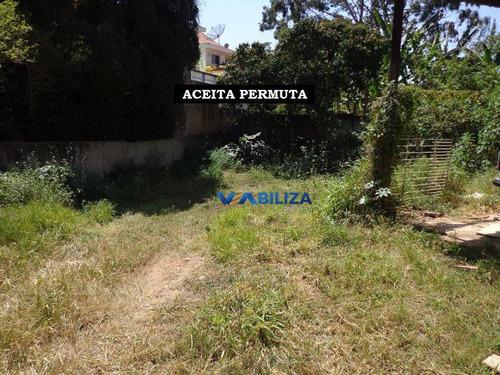 Imagem 1 de 13 de Terreno À Venda, 1025 M² Por R$ 1.500.000,00 - Horto Florestal - São Paulo/sp - Te0048