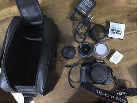Câmera Canon Eos Rebel T3i + Lente 18-55