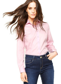 Camisa Social Dudalina Feminina - Rosa