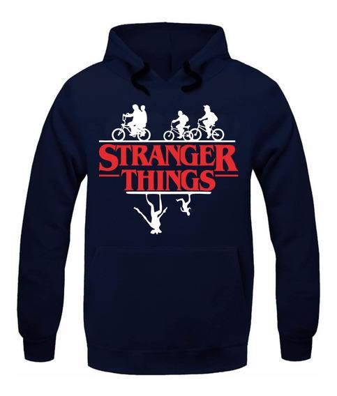 Blusa Stranger Things Serie Nova Casaco Moleton Moletom Jc