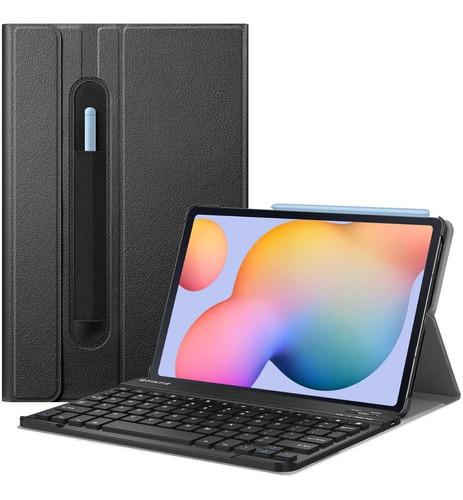 Imagen 1 de 5 de Funda Con Teclado Fintie Para Samsung Galaxy Tab S6 Lite