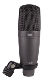 Microfone Condensador Usb Fnk-02 Acompanha Cabo Usb E Tripe