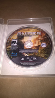 Juego Ps3 Sniper Ghost Warrior