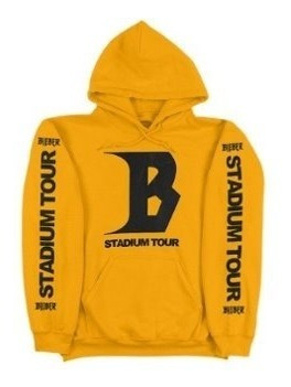 Justin Bieber Sudadera Purpose Tour Hoddie Stadium Tour 2018