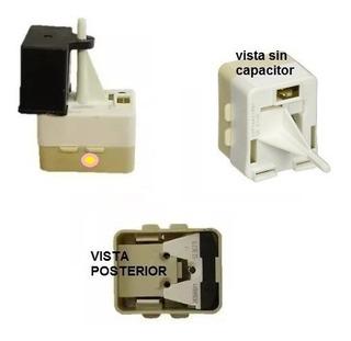 Relay Integrado De Compresor Refrigerador Mabe Ge Whirlpool