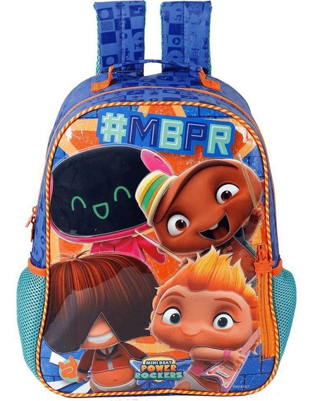 Mochila 14 Mini Beat Power Rockers Rocky Stars - 7753 Origin
