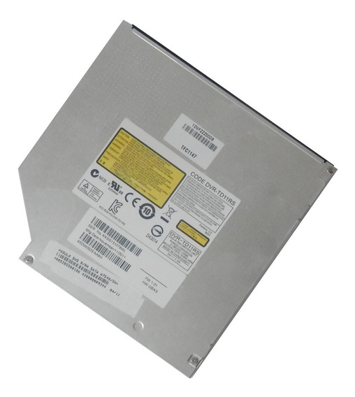 Gravador Cd/dvd Sata Original Itautec W7540 - Dvr-td11rs