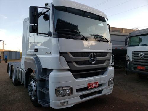 Mercedes-bens Axor 2544 6x2 Ano 2014 Cavalo Ttrucado