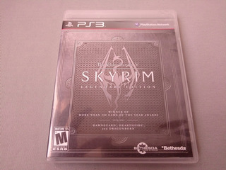 The Elder Scrolls V Skyrim Legendary Edition Para Ps3