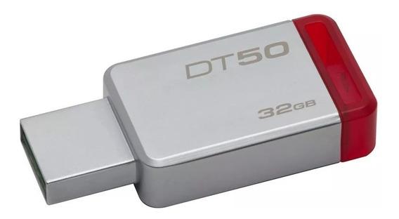 Pendrive Pen Dirve 32gb Kingston Datatraveler Dt50 Usb 3.0