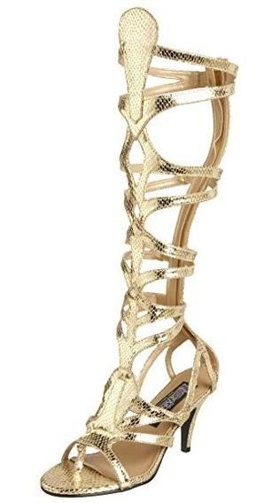 Sandalias Zapatos Gladiadora Egipicias Romanas Para Damas 4