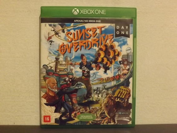 Xbox One Sunset Overdrive - Original - Aceito Trocas...