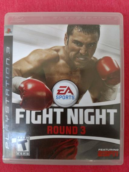 Fight Night Round 3 Ps3 Midia Fisica Frete R$10
