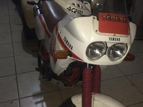 Moto Yamaha Xt Ténéré 600 - Branca E Vermelha