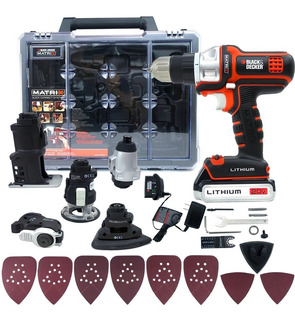 Taladro Matrix 6 En 1 20v Tool Combo Black And Decker