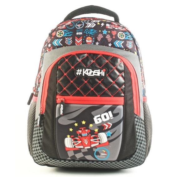 Mochila Kooshi Autos F1 Espalda 13
