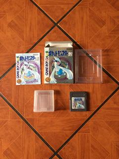 Pokemon Silver Game Boy Color Nintendo