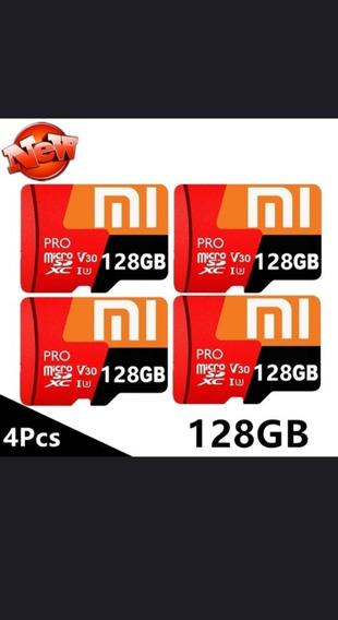 Cartão Micro Sd Xaomi 128gb + Adaptador Usb + Adaptador Sd