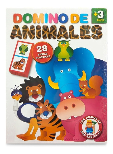 Domino De Animales Don Rastrillo Ruibal Educando