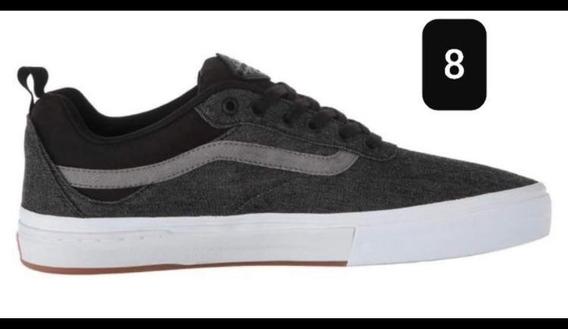 Zapatos Vans Negros Para Hombre Talla #8 Usa