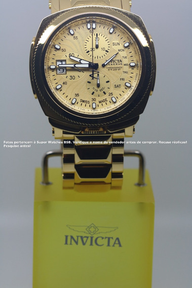 Invicta Excursion Reserve Plaqueado Polido 18k 12701