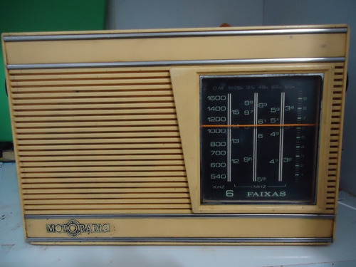 Radio Portatil Usado Funcionando