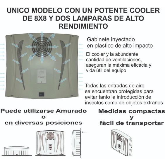 Ozono Generador At 100 Agua Y Ambiente