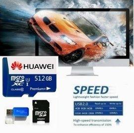 Cartão De Memória Tf Huawei Sdxc 1 Premium+ 512 Gb