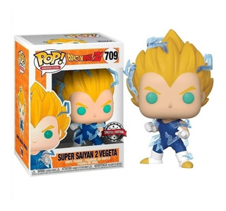 Funko Pop! Dragon Ball Z Super Saiyan 2 Vegeta Exclusive 709