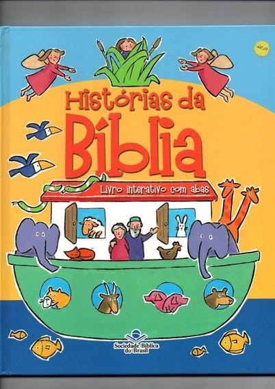 Livro Interativo Com Abas - Histórias Da Bíblia - Ano 2009