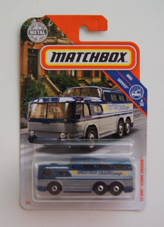 Matchbox Mbx-service 08/20 ´55 Gmc Scenic Cruiser