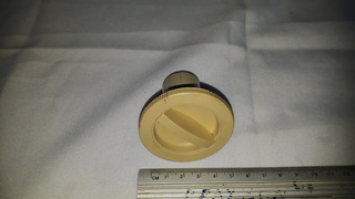Botão Giratório Máquina Lavadoura De Roupa Antiga Cod 2791