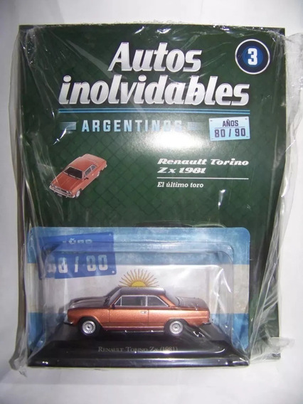 Autos Inolvidables Años 80/90 N°3 Torino Zx 1981