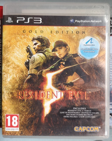 Resident Evil 5® Ps3 Mídia Física- Frete R$10
