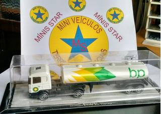 Caminhão Scania Carreta Miniatura Guisval