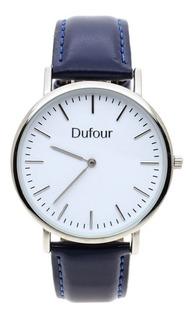 Reloj Hombre Estilo Clásico Malla Cuero D13018