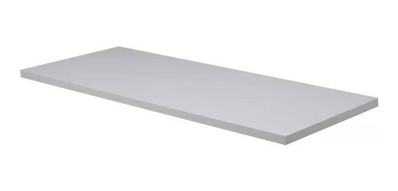 Prateleira Mdf 200x30 Branco 15mm 2 Metro X 30cm Sala Quarto