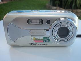 Câmera Fotográfica Digital Mitsuca Dc6388br Usada