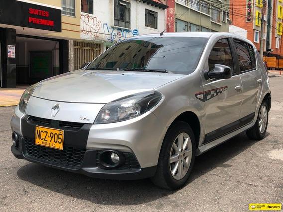 Renault Sandero Gt Line 1600icc 16v Aa Ab Abs