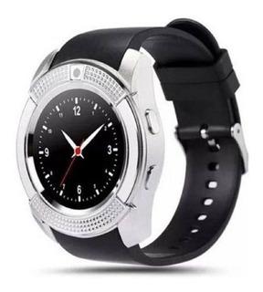 Smartwatch Relogio Pulseira Inteligente Display Redondo V8