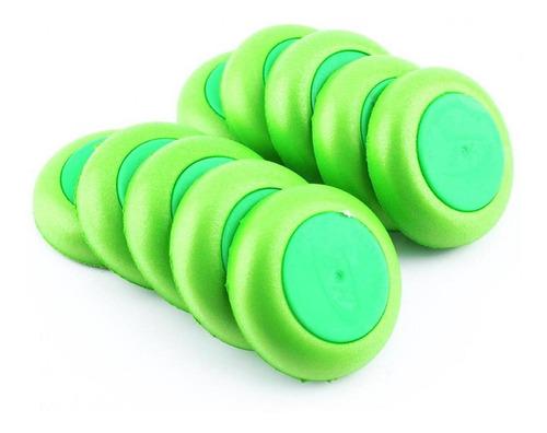 Imagem 1 de 8 de Atacado 10pcs Soft Recarga Disco Verde Para Bala Acessório