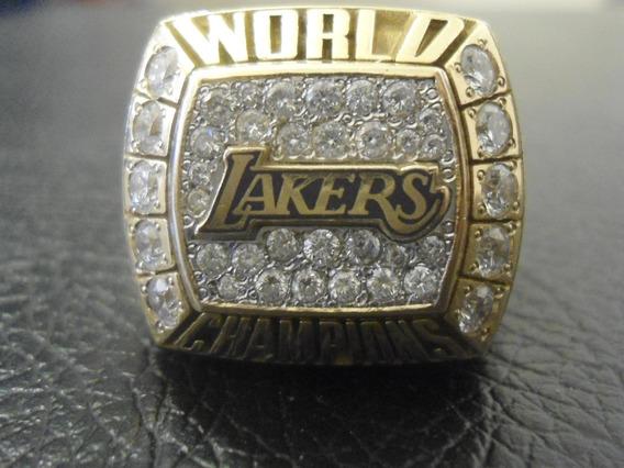 Anillo De Campeonato Lakers World Champions 2000 Jerry Buss