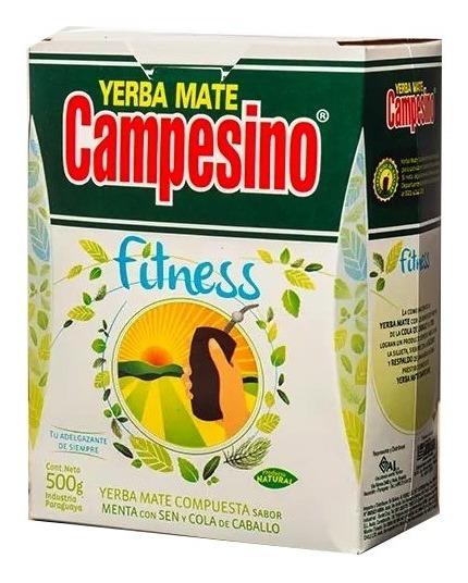 3 Kilos De Yerba Mate Campesino Fitness