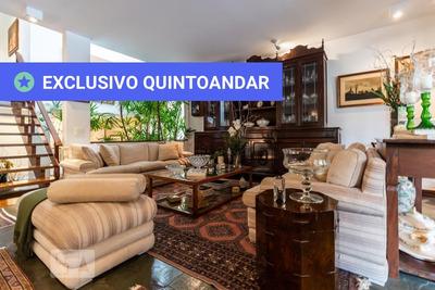 Casa Em Condomínio Mobiliada Com 4 Dormitórios E 4 Garagens - Id: 892888409 - 188409
