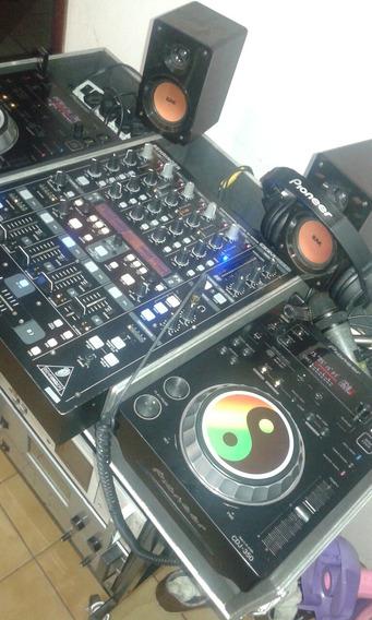 Cdj 350 Pioneer E Mixer Ddm 4000 Mais Case