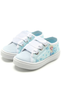 Sapato Infantil Menina Diversão Disney Frozen Azul 26 01
