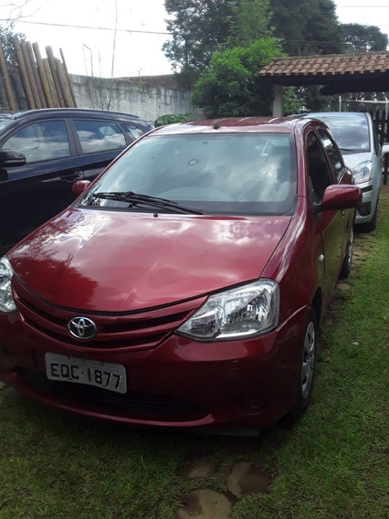 Toyota Etios X Flex 1.3 Completo 2013, 52k Único Dono