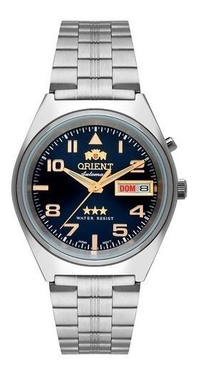 Relogio Original Orient Masculino Automatico 469ss083 G2sx