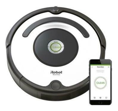 Nuevo Robot Aspirador Irobot Roomba 670 Con Conexión Wi Fi